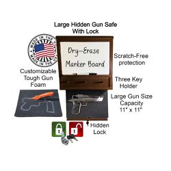 Large Wall Safe With Hidden Lock for Sale in Brownsville,  TX