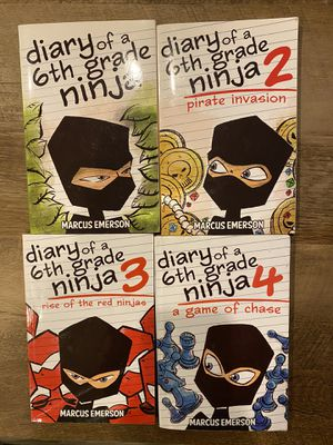 Diary of a 6th Grade Ninja books for Sale in Gilbert, AZ