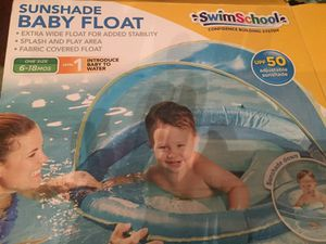 SwimSchool Sunshade Baby Float for Sale in Denver, CO