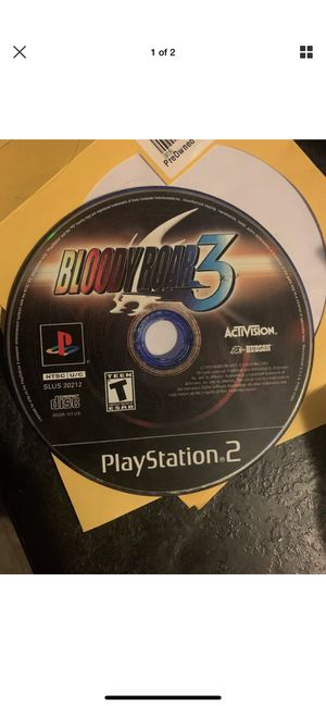 Bloody Roar 3 PS2 PlayStation 2. Disc Only! Tested! for Sale in Columbus, OH