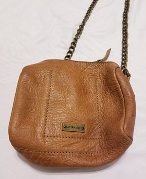 Tan Faux Leather Shoulderbag for Sale in Woodland, CA
