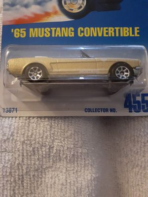 Hotwheel 65 convertible Mustang in a rare copper color for Sale in New Albany, IN