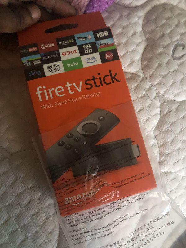 Amazon fire tv sticks