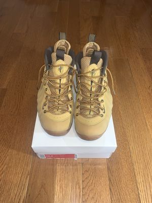 Nike Air Foamposite wheat size 10.5 VNDS 100% Authentic for Sale in Hyattsville, MD