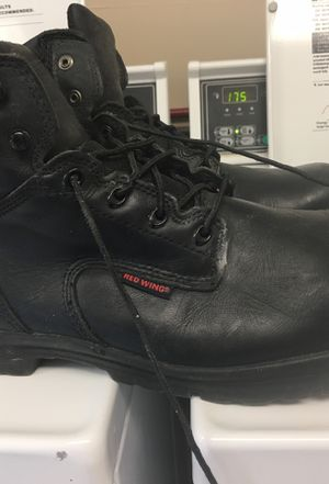 Redwing steel toe boots,used size 14 for Sale in Silver Spring, MD