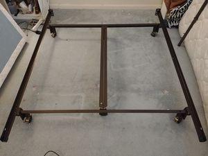 Queen bed metal frame for Sale in Virginia Beach, VA
