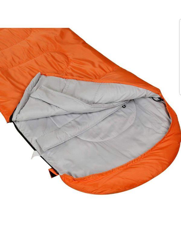 Lightweight Waterproof Envelope Sleeping Bag Never used. Never take it out