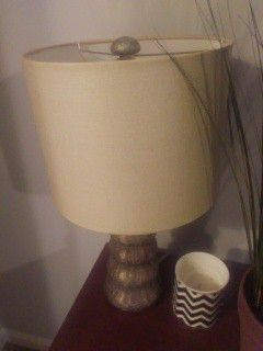 Decorative Lamp with textured base for Sale in Ashburn, VA