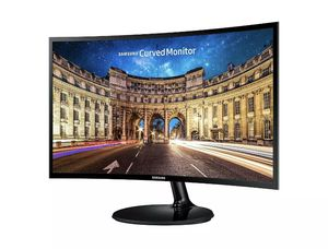 """Samsung 24"""" FHD Curved LED Monitor Eye Saver Flicker Free Game Mode HDMI - Brand New Sealed. for Sale in Dallas, TX"""