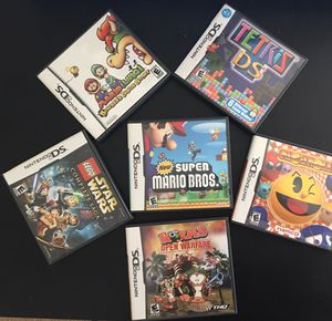 Nintendo DS Games.Selection of 6 assorted games for Sale in Ashburn, VA