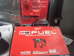 M18 fuel rotary hammer and 8AH battery and fast charger for Sale in Saratoga, CA