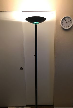 Tall black lamp for Sale in Beaverton, OR