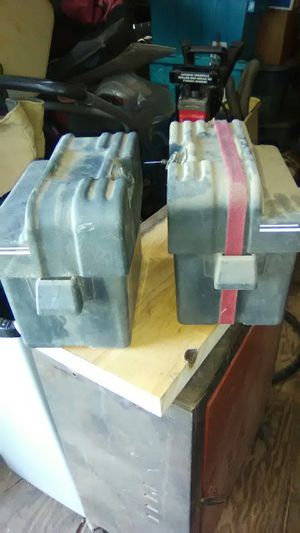 Small Battery Boxes for Lawn Mower for Sale in Peoria, AZ