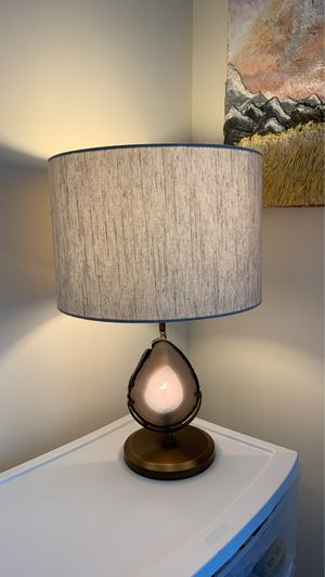 Pottery barn geod rock lamp (s) for Sale in Atlanta, GA