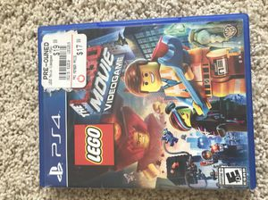 The LEGO Movie Video Game PS4 for Sale in Wenatchee, WA
