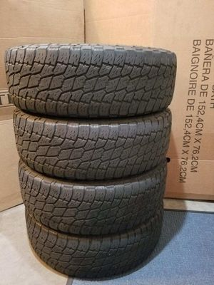4 Tires - 265/70R17 NITTO TERRA GRAPPLER G2 for Sale in Bellevue, WA