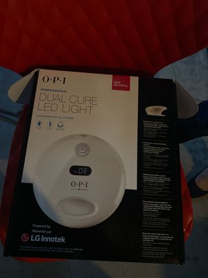 O.P.I Dual cure LED light for Sale in Lynwood, CA