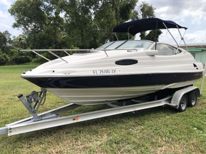Regal 2150 LSC Boat, bote and aluminum trailer. Engine not good for Sale in Orlando, FL