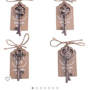Wedding Favors- Skeleton Key With Tag for Sale in Las Vegas, NV