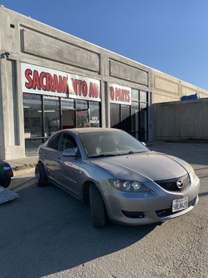PARTING OUT MAZDA 3 2005 AT 2.0 4cyl sedan 4 doors for Sale in Rancho Cordova, CA