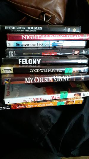 Lot of 10 DVD Movies for Sale in Arlington, VA