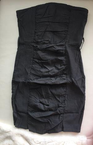 Body Central Dark Gray Mini-Dress Strapless Belt Strap for Sale in San Antonio, TX