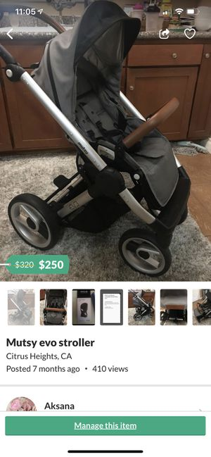 Mutsy evo stroller for Sale in Citrus Heights, CA
