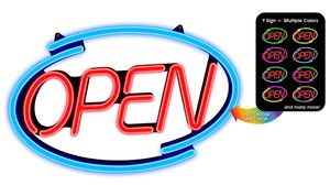 LED OPEN SIGN LIKE NEW for Sale in Mineola, TX