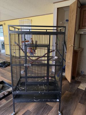 Prevue Bird Cage. - moving can not take for Sale in Oakdale, PA