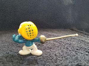 Smurfs Fencer Super Smurf Sword Rare Vintage Toy Figure for Sale in San Diego, CA