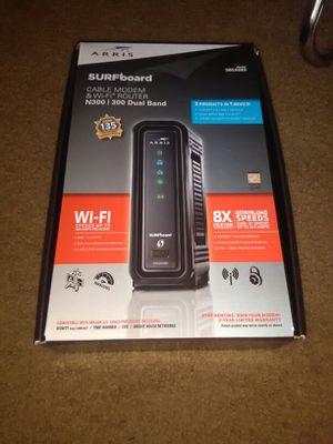 Motorola Modem & WI-FI Router Model SBG 6580 for Sale in Durham, NC