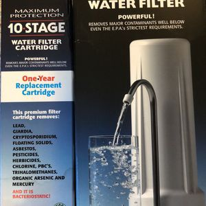 Water Filter And Extra Replacement Cartridge (New In Box) for Sale in Portland, OR