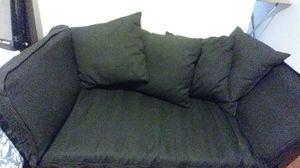 Futon with mattress Black for Sale in Pasadena, CA