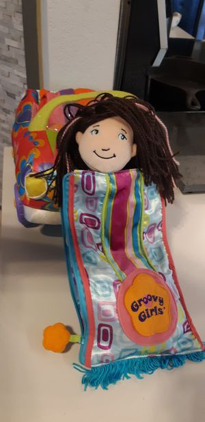 Groovey Girl Doll and Car/accessories for Sale in Spicewood, TX