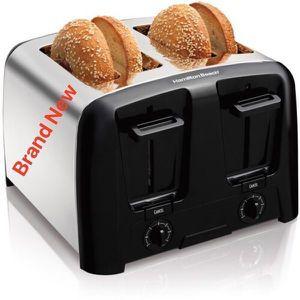 Hamilton Beach Four Slice Toaster Kitchen Tostadora Horno 24614Z for Sale in Miami, FL