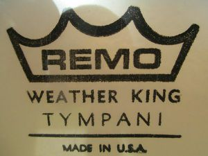 """TYMPANI Drum Head 30"""" Rare Vintage Remo Weather King Never Used for Sale in Lake Elsinore, CA"""