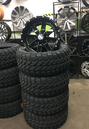 20x10 inch rims and tires moto metal for Sale in Gresham, OR