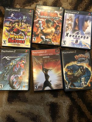PlayStation 2 games all work great for Sale in Dinuba, CA