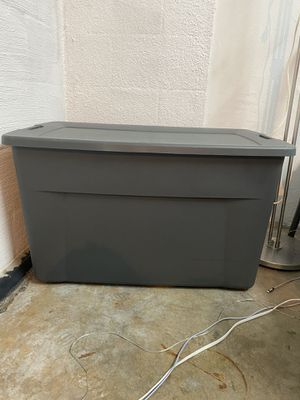 Extra large container, storage, plastic box for Sale in San Diego, CA