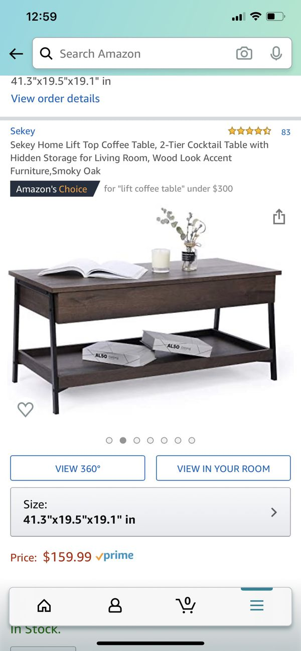 Brand new Lift coffee table Right Now only $90