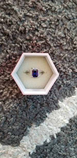 Blue stone size 7 ring for Sale in Warner Robins, GA