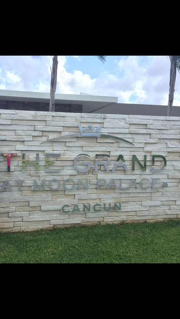 Cancun all inclusive the Grand at Moon Palace