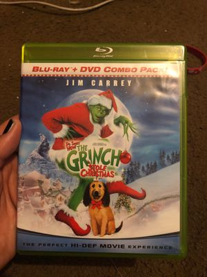 The Grinch Stole Christmas blu ray only for Sale in Orlando, FL