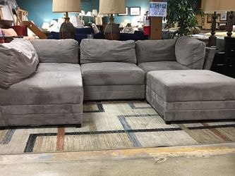 Abbysin Living Taupe Sectional for Sale in Bellevue,  WA