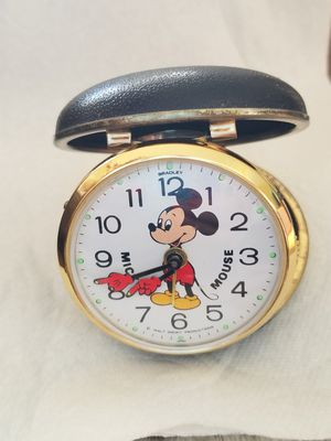Mickey Mouse Antique Wind Up Alarm Clock for Sale in Los Angeles, CA