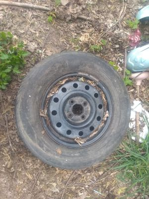 Set of 4 steel tires an rims for Sale in Edgar Springs, MO