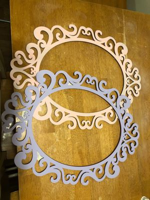 Oval frame party decor for Sale in Lynnwood, WA