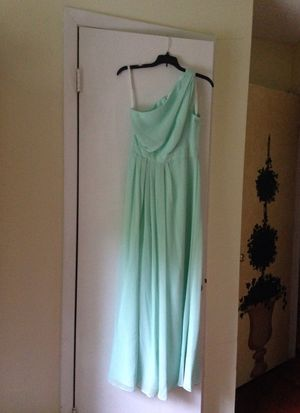 David's Bridal Mint Bridesmaid Dress for Sale in Cary, NC