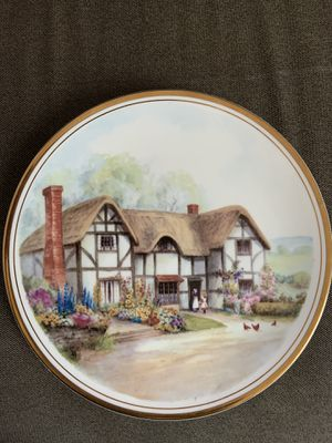 Vintage Royal Kent Collector Plate, Bone China, Staffordshire, England for Sale in Ashburn, VA
