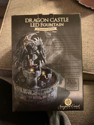Dragon castle led fountain for Sale in Gilroy, CA
